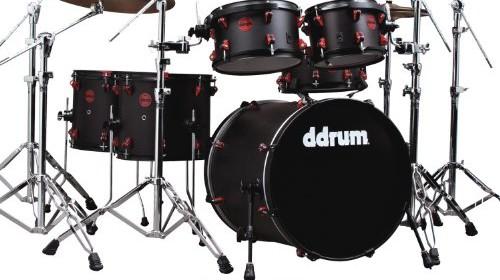 Black/Red | Electronic Drum Set Shop