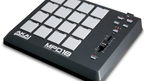 akai mpd18 compact midi controller percussion pad used mint condition electronic drum set shop. Black Bedroom Furniture Sets. Home Design Ideas