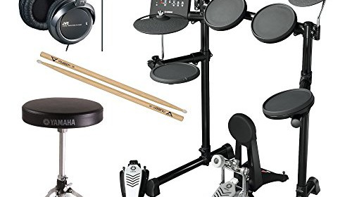 Yamaha electronic drum set shop for Yamaha dtx450k electronic drum set